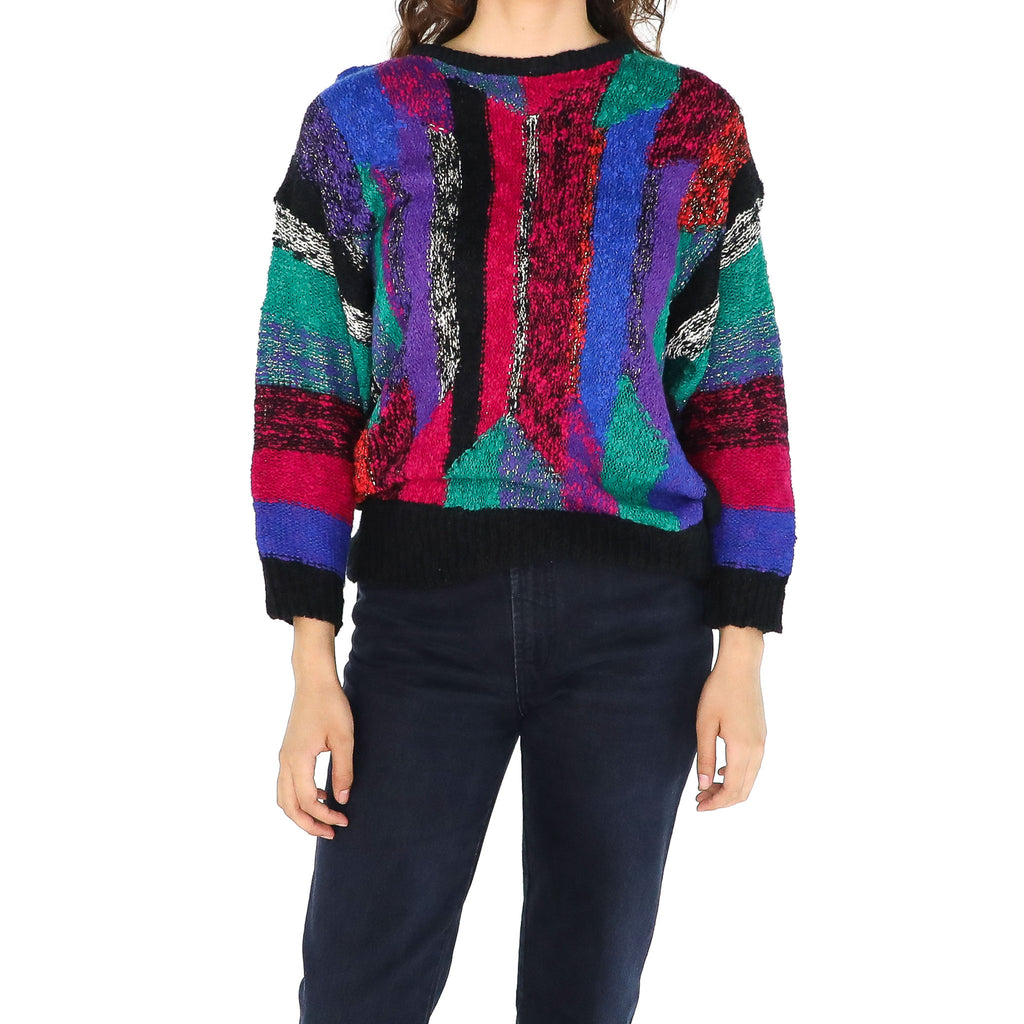 The SMPTE Color Bars Sweater