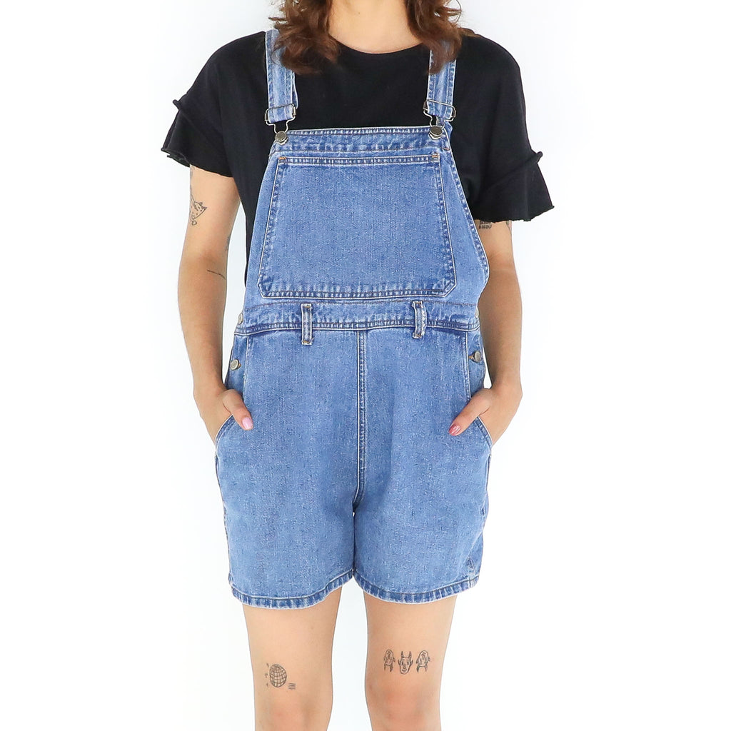 Denim Short Overall