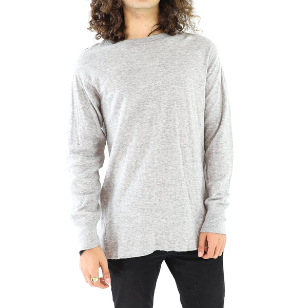 Pearl River Gray Long Sleeve T-Shirt