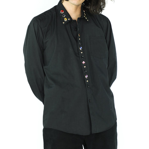 Gems Onyx Black Gothic Shirt