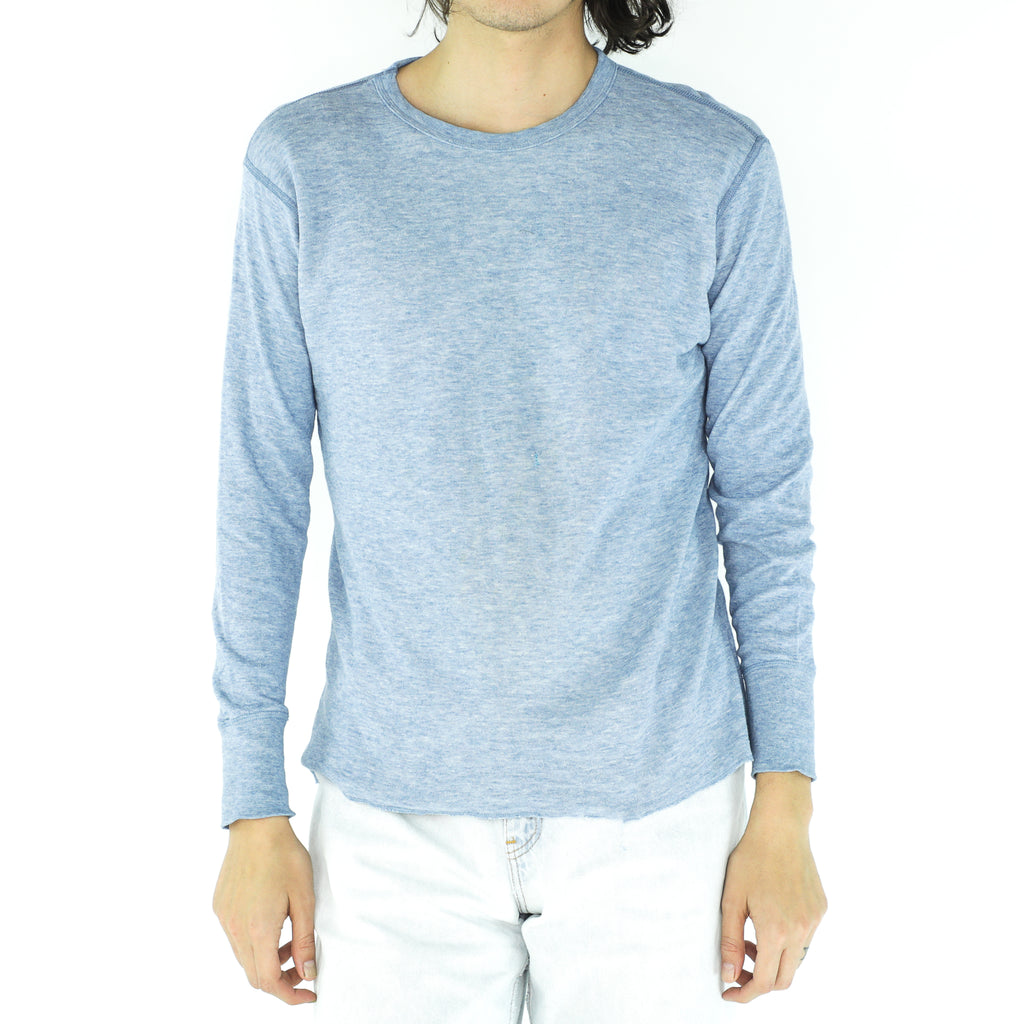 Blue - Green Cotton 90' Sweatshirt