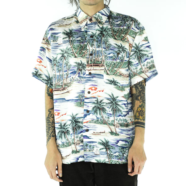 Hawaiian Silk 70's Shirt