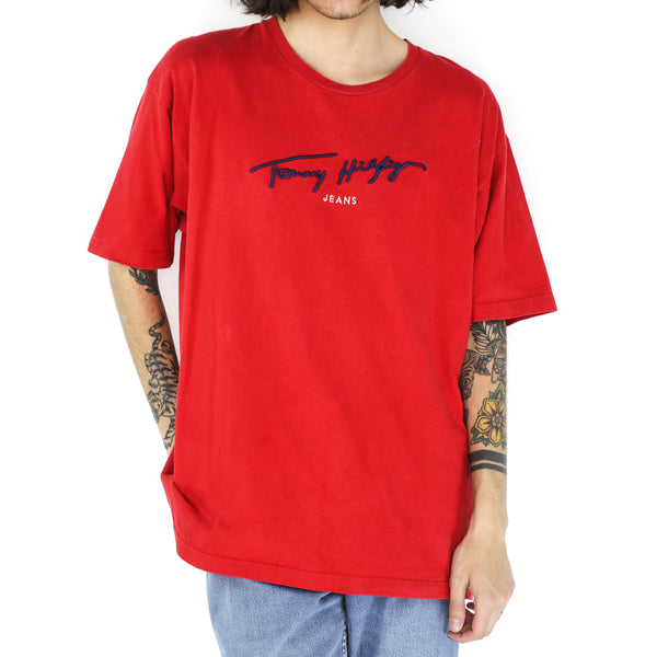 Tommy Hilfiger Jeans Red T-Shirt