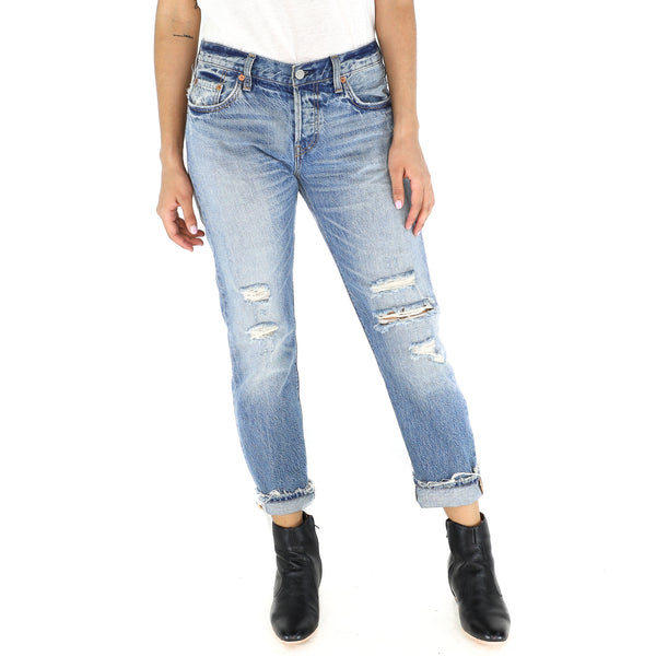 Vintage Ripped 501 Levi´s Jeans
