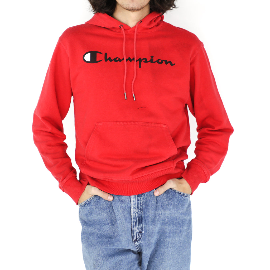 Candy Apple Red Champion Hoodie