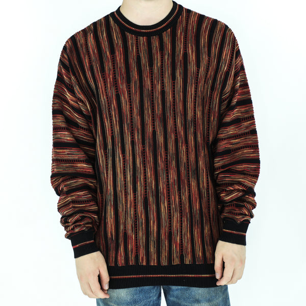Fire Acrylic Crew Neck Sweater