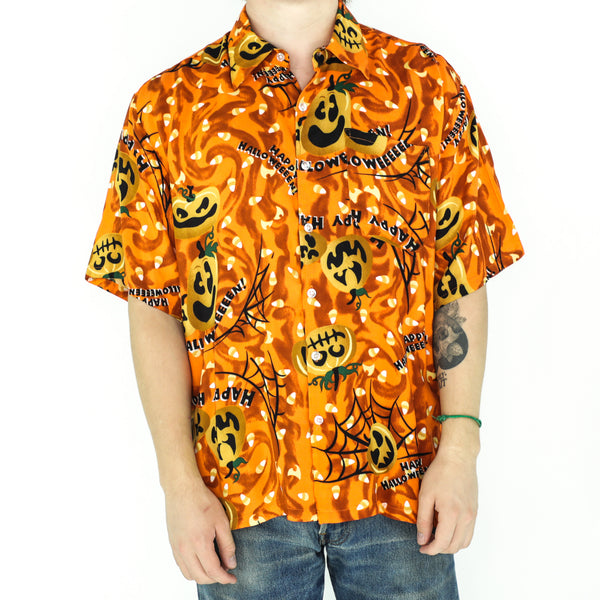 Happy Halloween Rayon Shirt