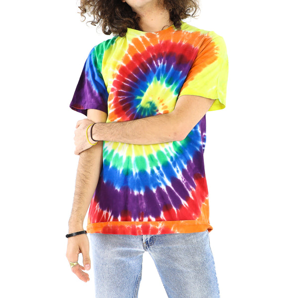 Colorful Cotton Tie-dye T-shirt