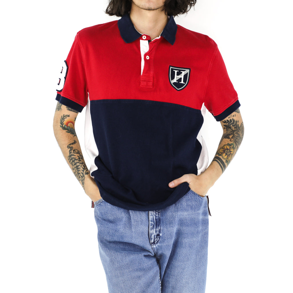 Crimson Navy Hilfiger Shirt