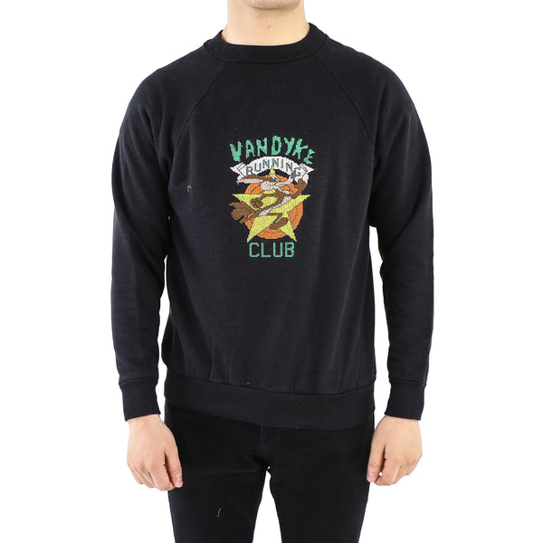 Black Coyote Sweatshirt