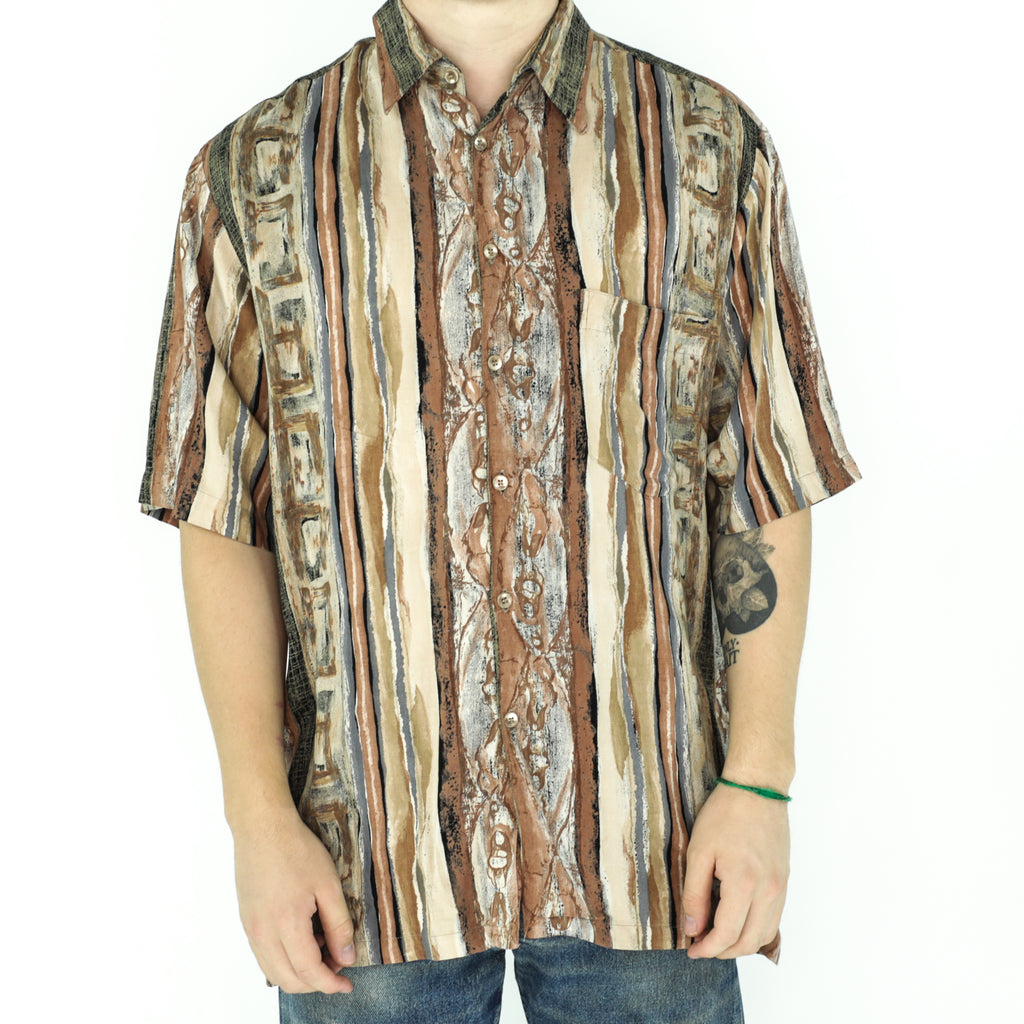 Rust Colors Rayon Shirt