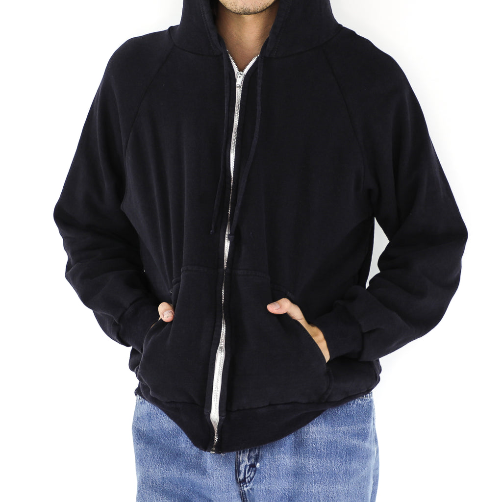 Black Cotton Hoddie
