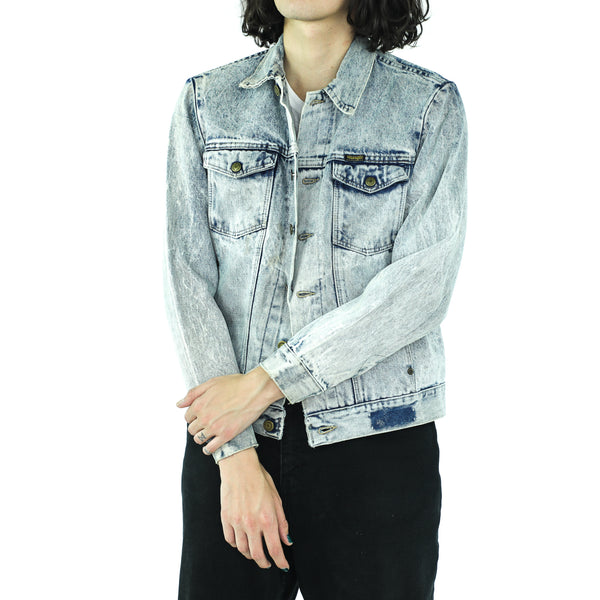 Crybaby Acidwashed Vintage Wrangler Denim Jacket