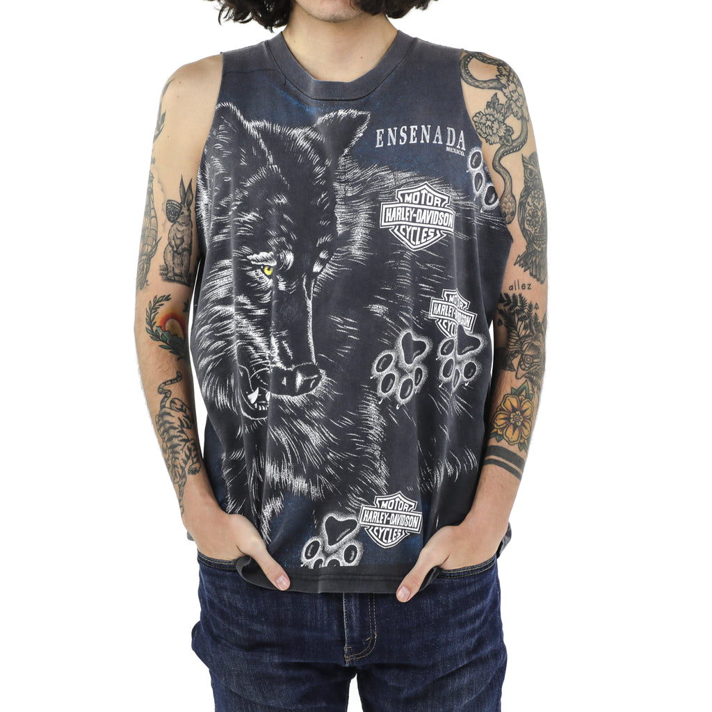 Ensenada Milwaukee Harley Davidson Tank Top