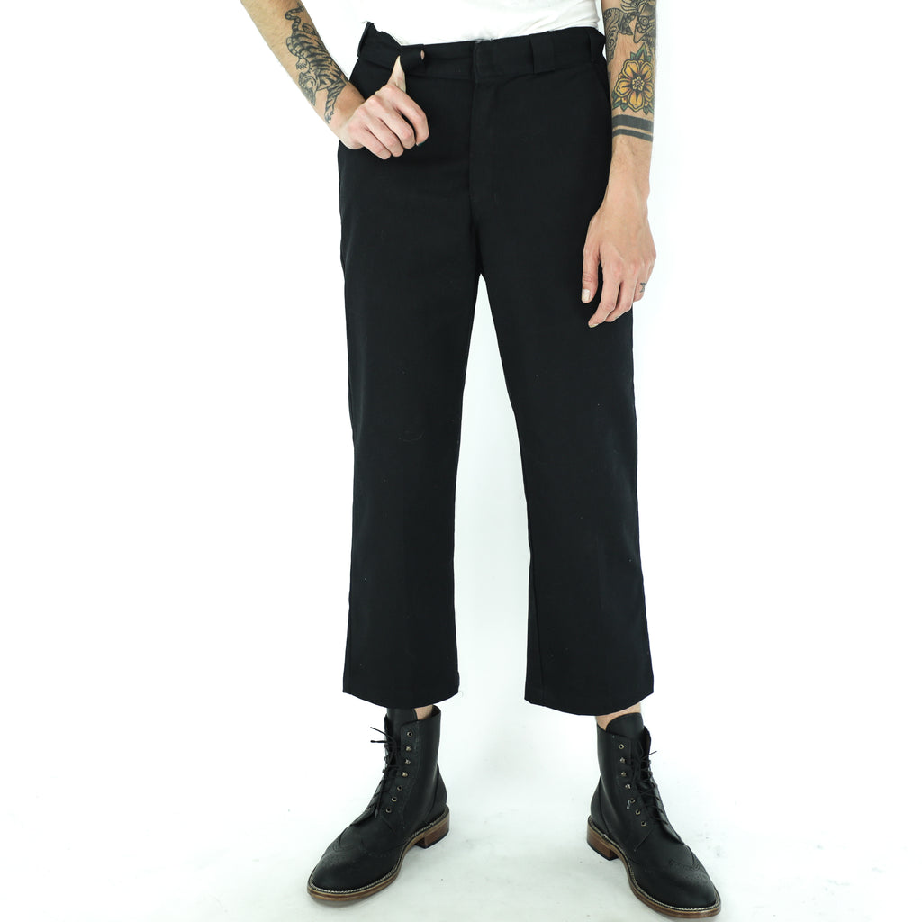 Plain Black 60's Pants