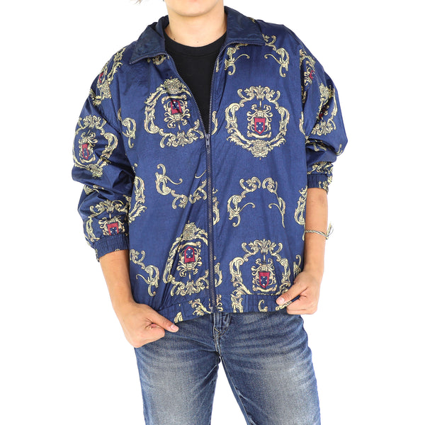 Navy Blue Royal Bomber Jacket