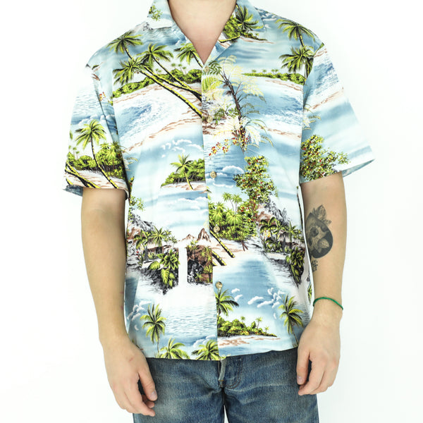 Vintage Cotton Hawaiian Shirt
