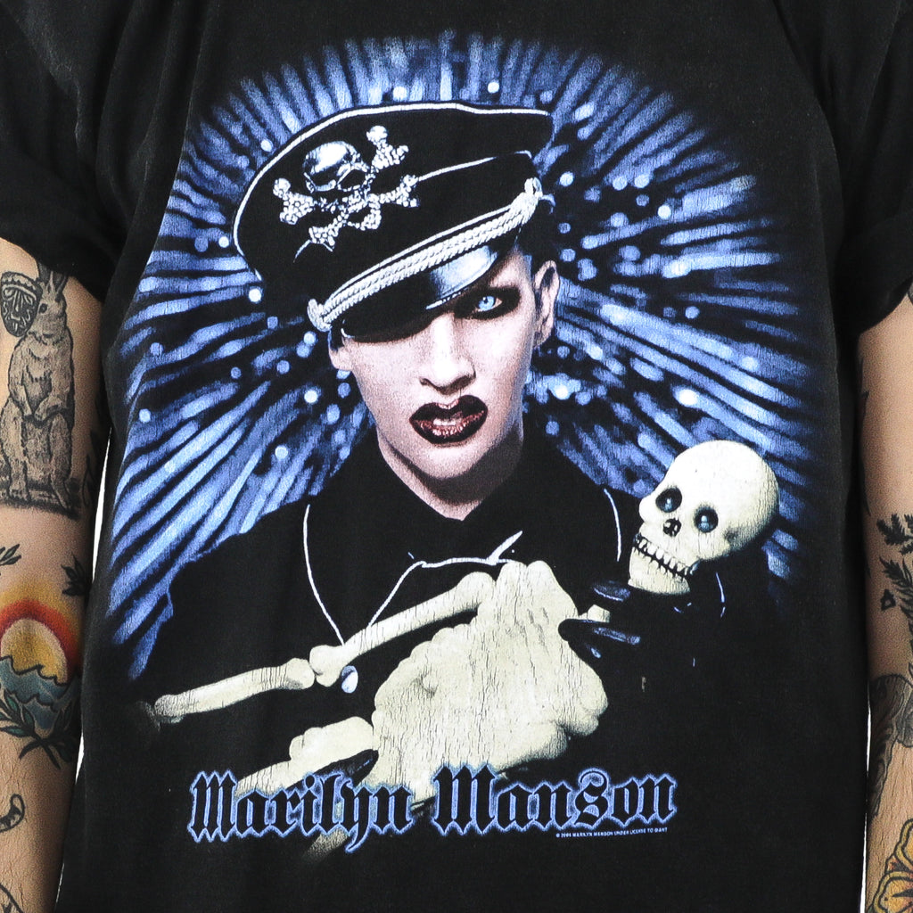 Marilyn Manson Black  Vintage T-Shirt