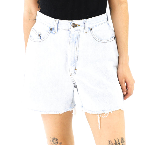Baby Blue Denim Shorts