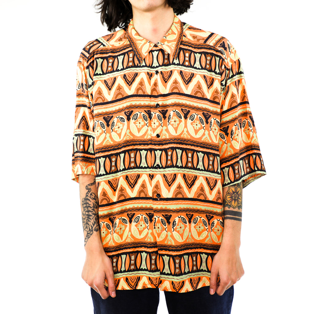 Orange & Coral Tribal Shirt