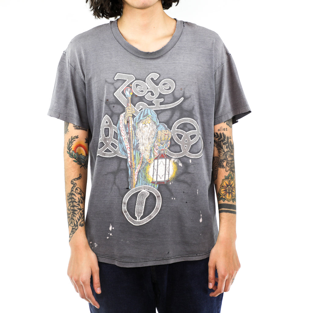 Led Zeppelin Zoso Vintage T-shirt