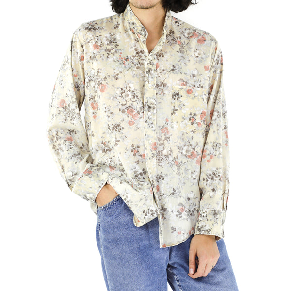 Floral Tapestry Long Sleeve Shirt