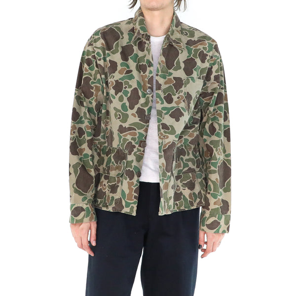 Vintage Cotton Camo Jacket