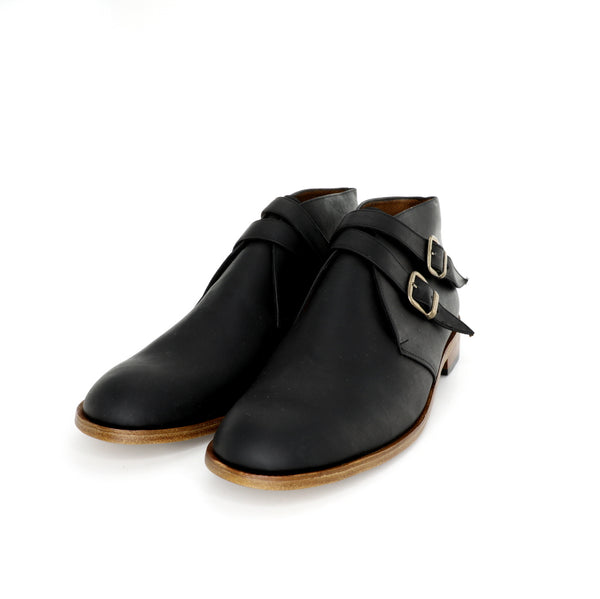 Borcego Monk - Black Pull Up