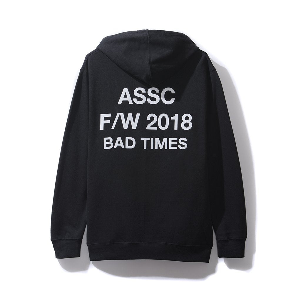 25b233785e6c Anti Social Social Club Bad Times Black Hoodie. Images   1   2