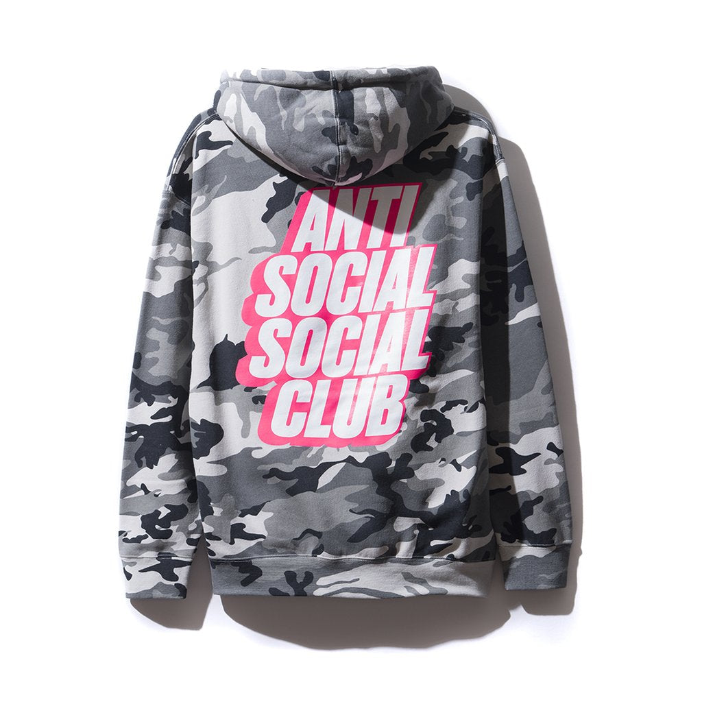 Anti Social Social Club Blocked Siberia Camo Hoodie