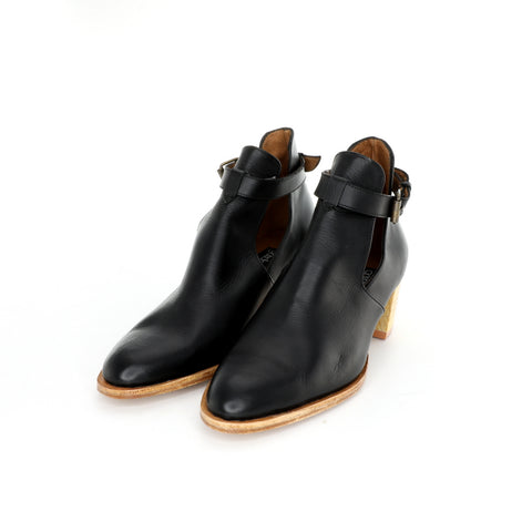 Dylan Boot - Black with Buckle