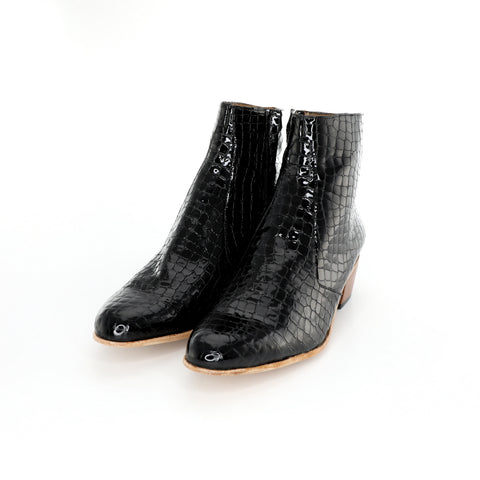 Dylan Boot - Crocodile Pattern