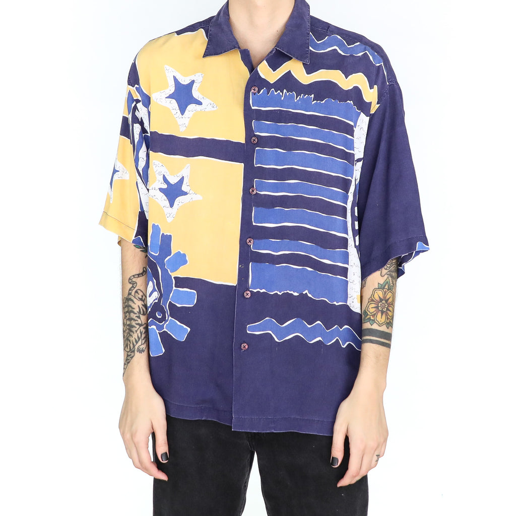 Abstract Stars & Sea Shirt
