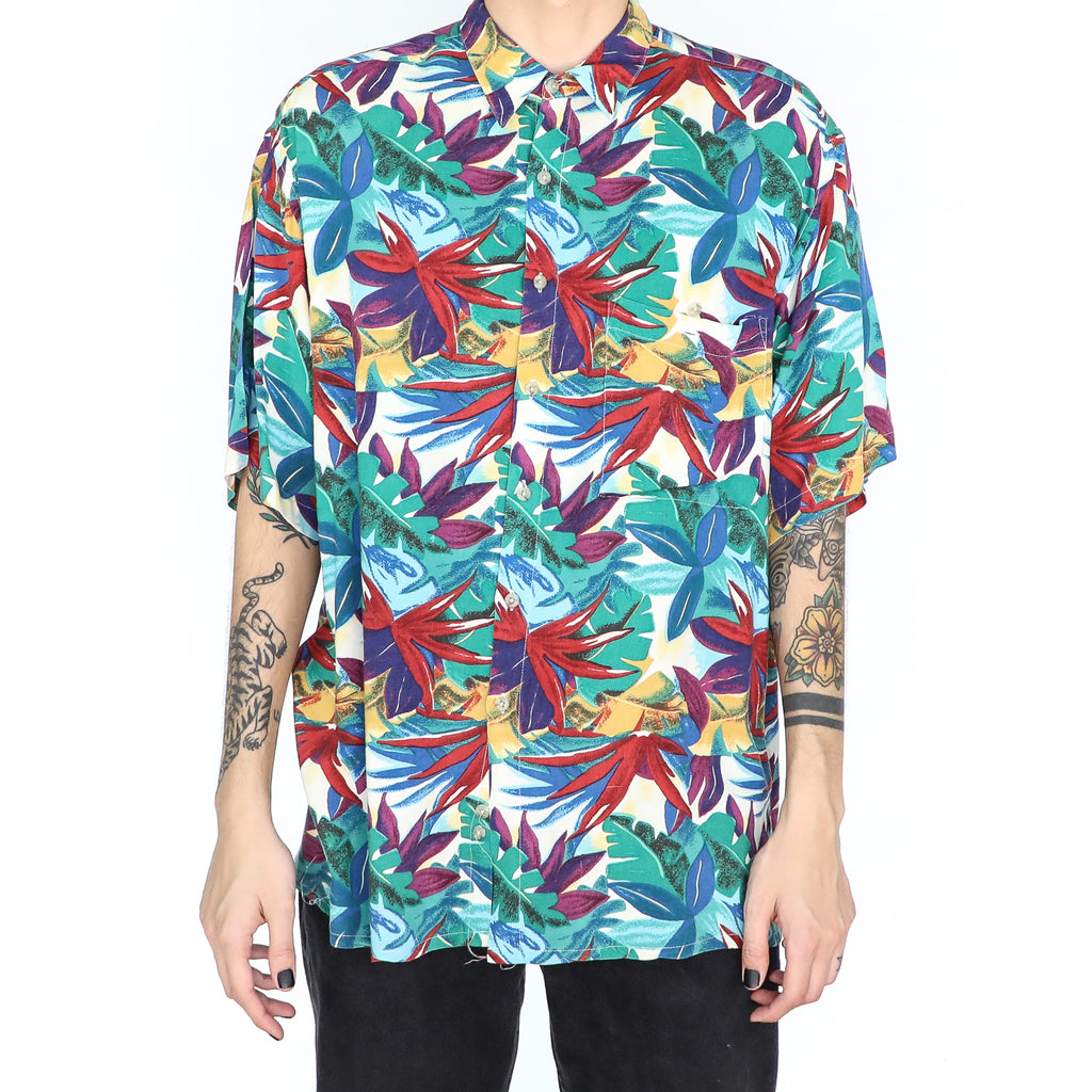 Multicolor Plants Shirt