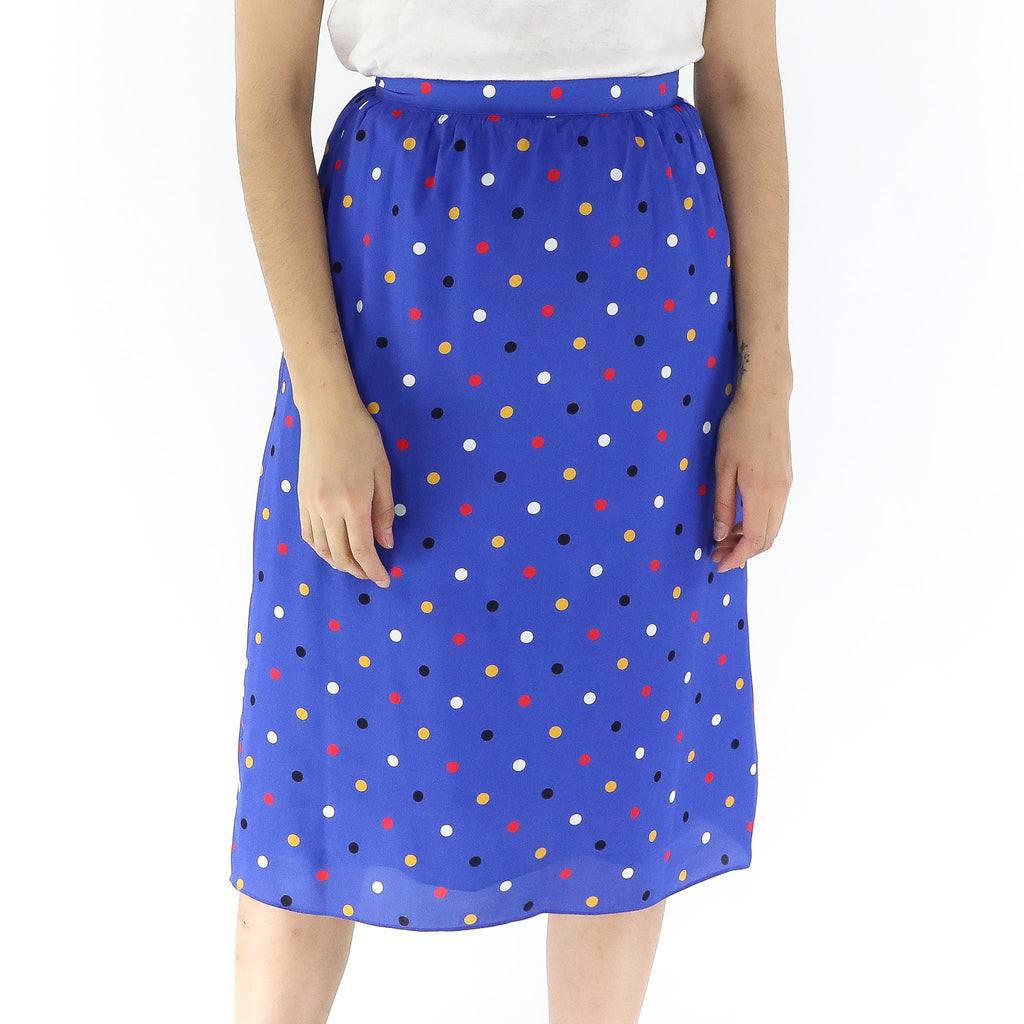 Multicolor Dots Skirt