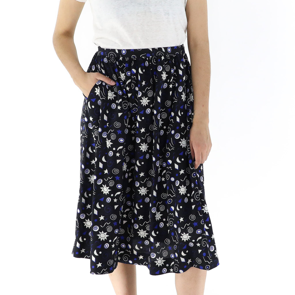 Kozmic Blues Skirt