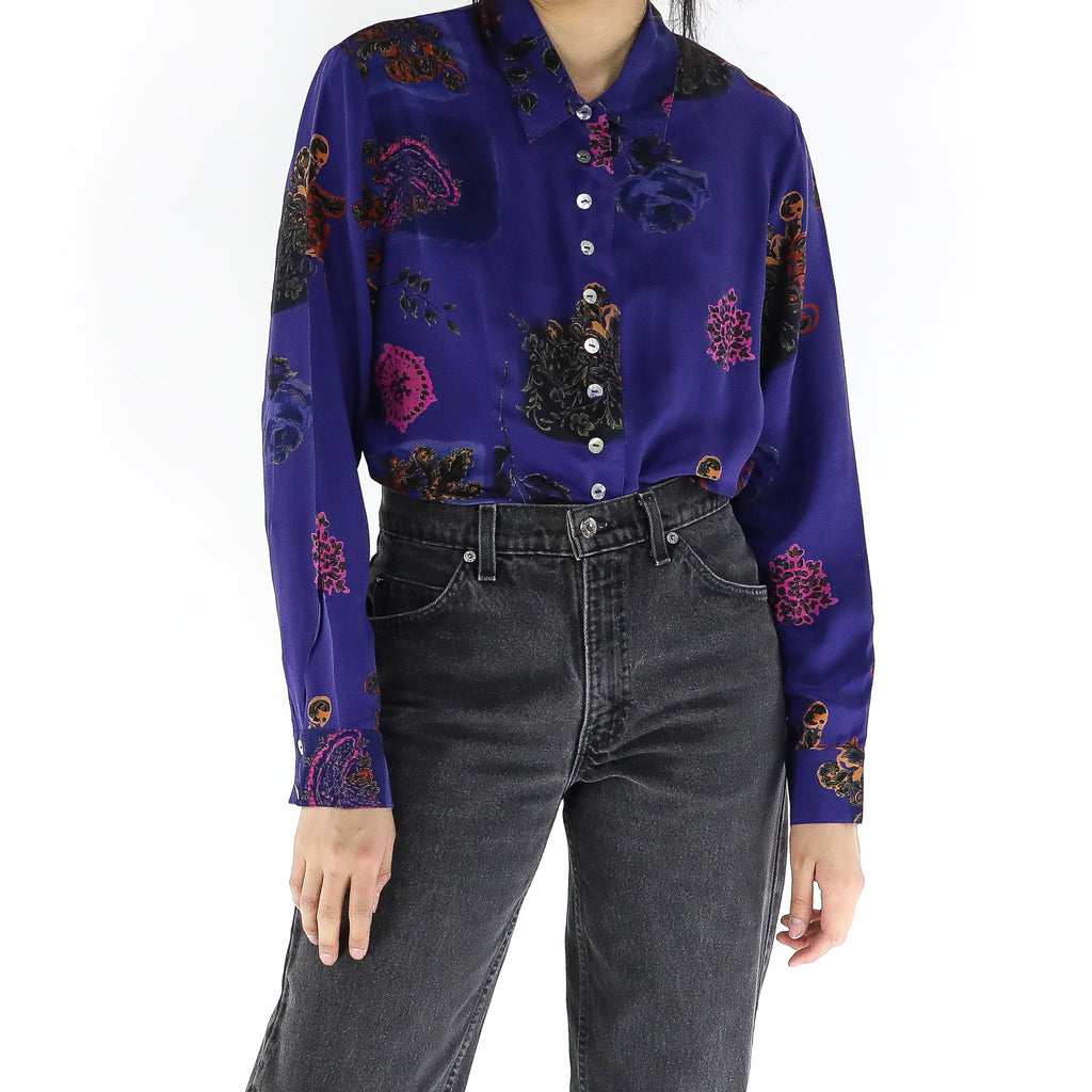 Caribbean Night Blouse