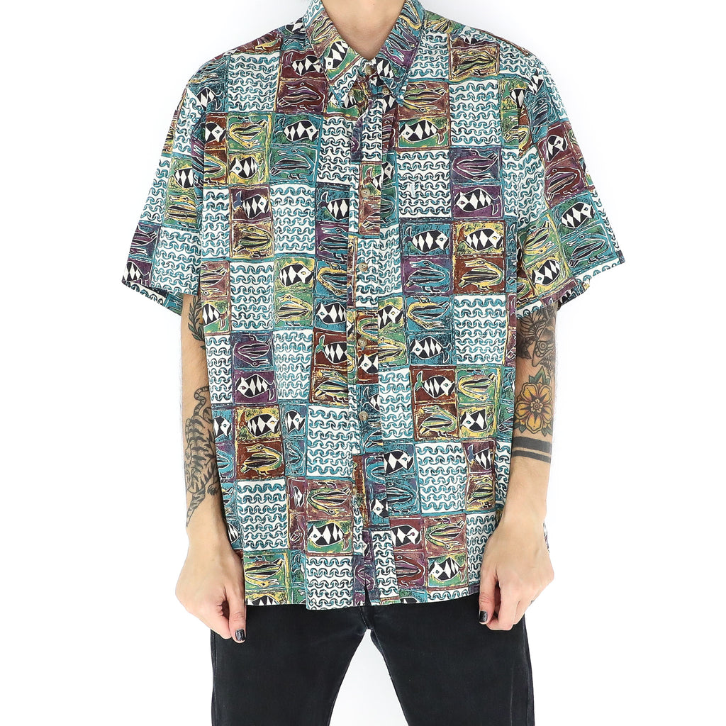 Abstract Animas & Waves Shirt