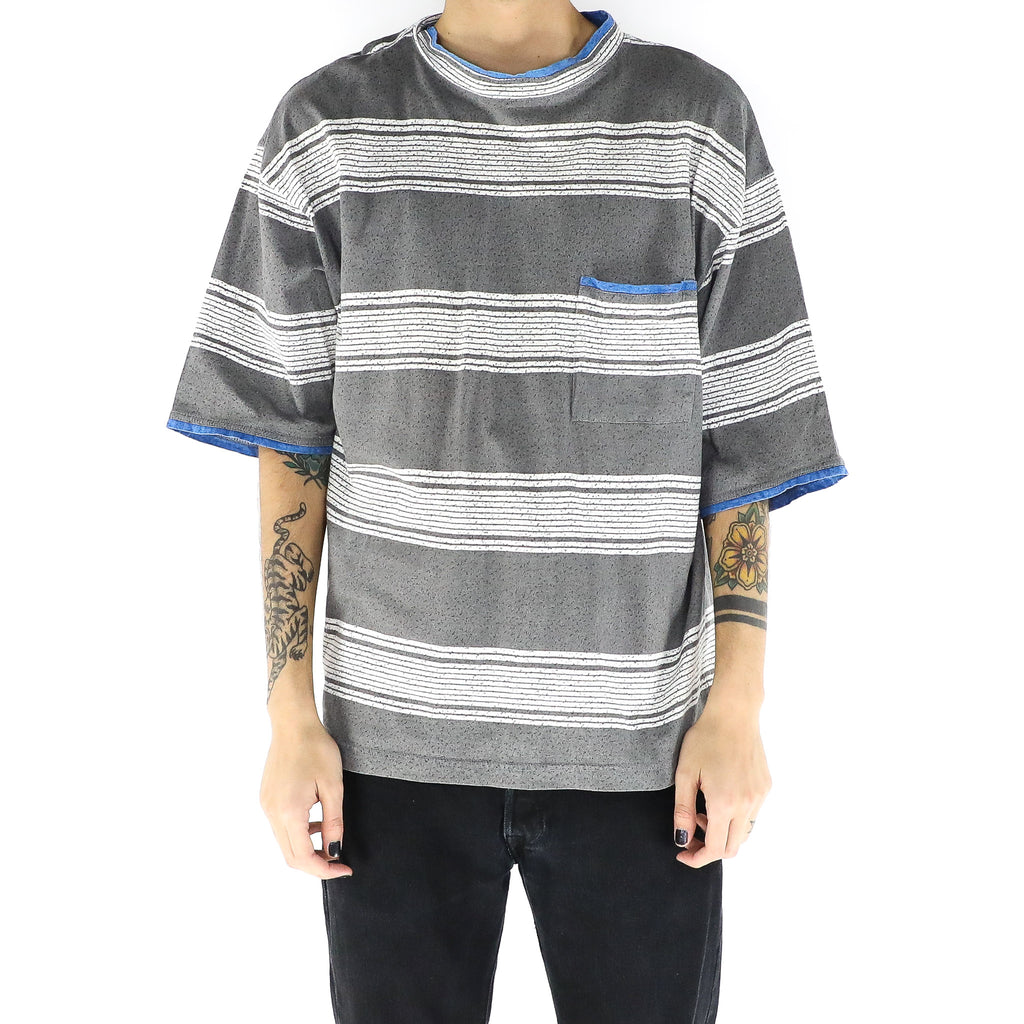 Pewter Gray & Stripes T-Shirt