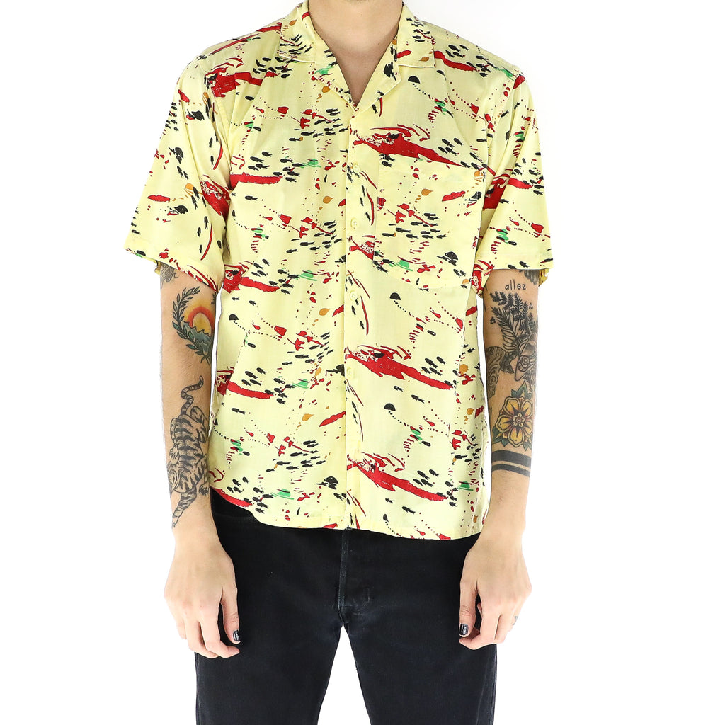 Paint Splashed Banana Shirt