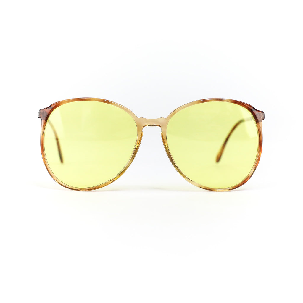 Vintage Maximum Yellow Sunglasses