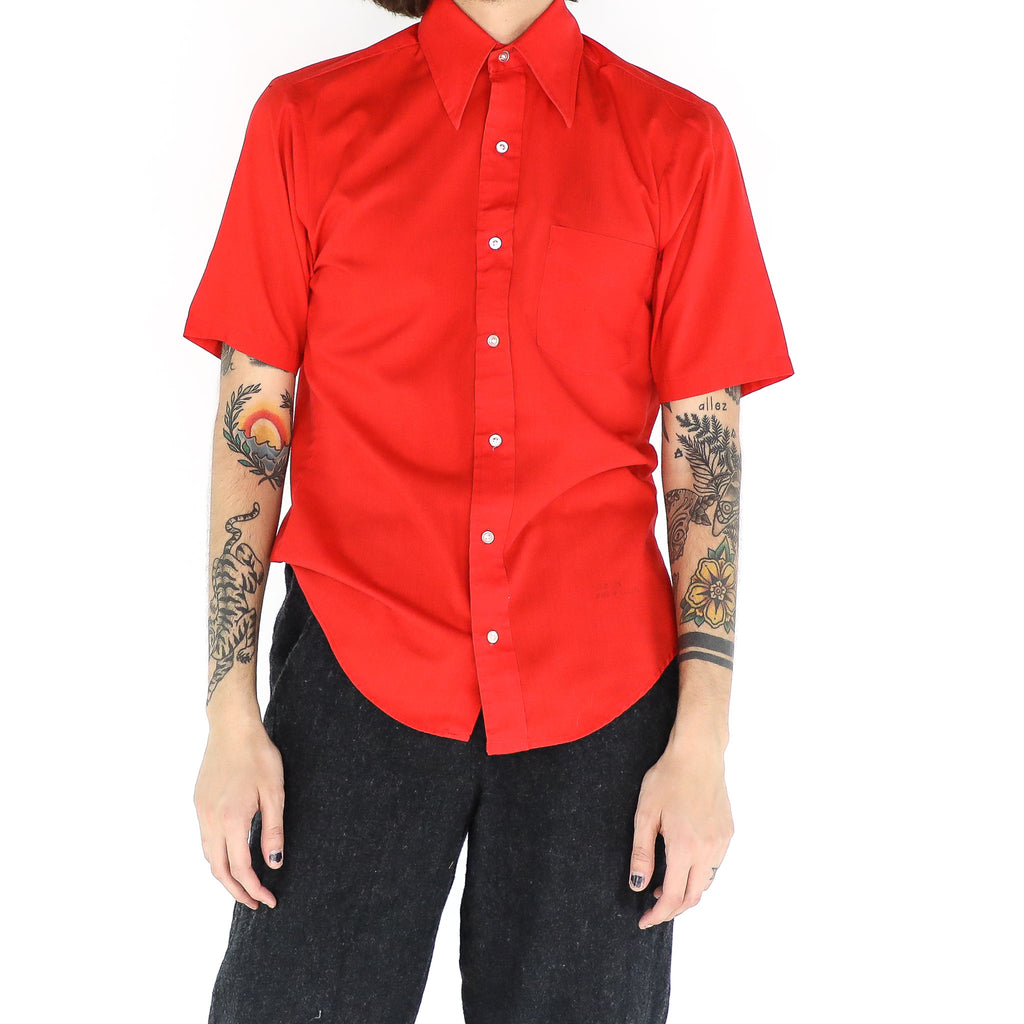 Plain Red Shirt