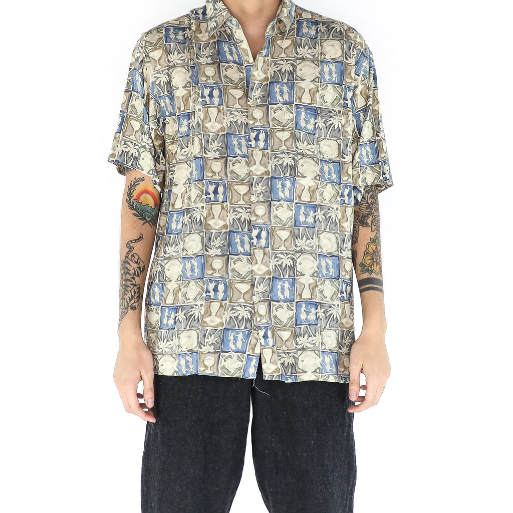 Tropical Tiles Shirt