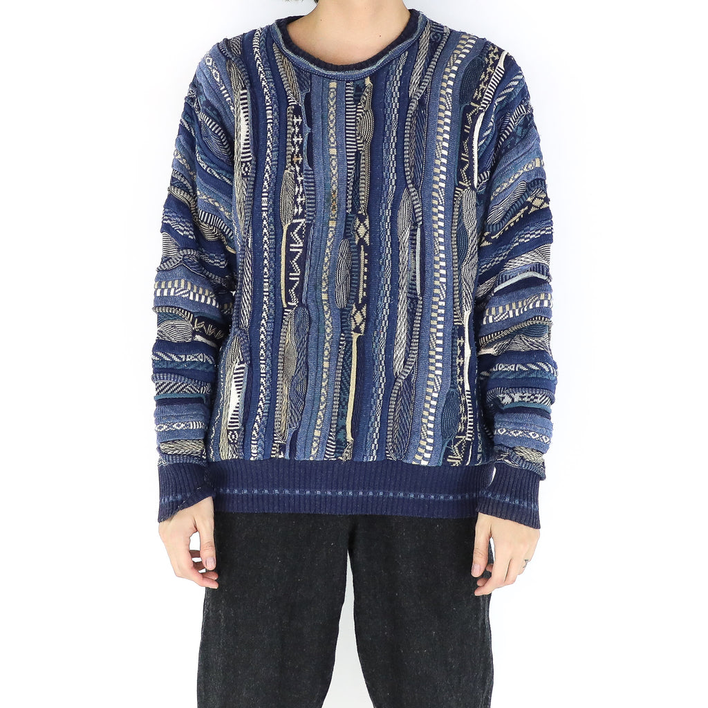 Blue Coorgi Sweater
