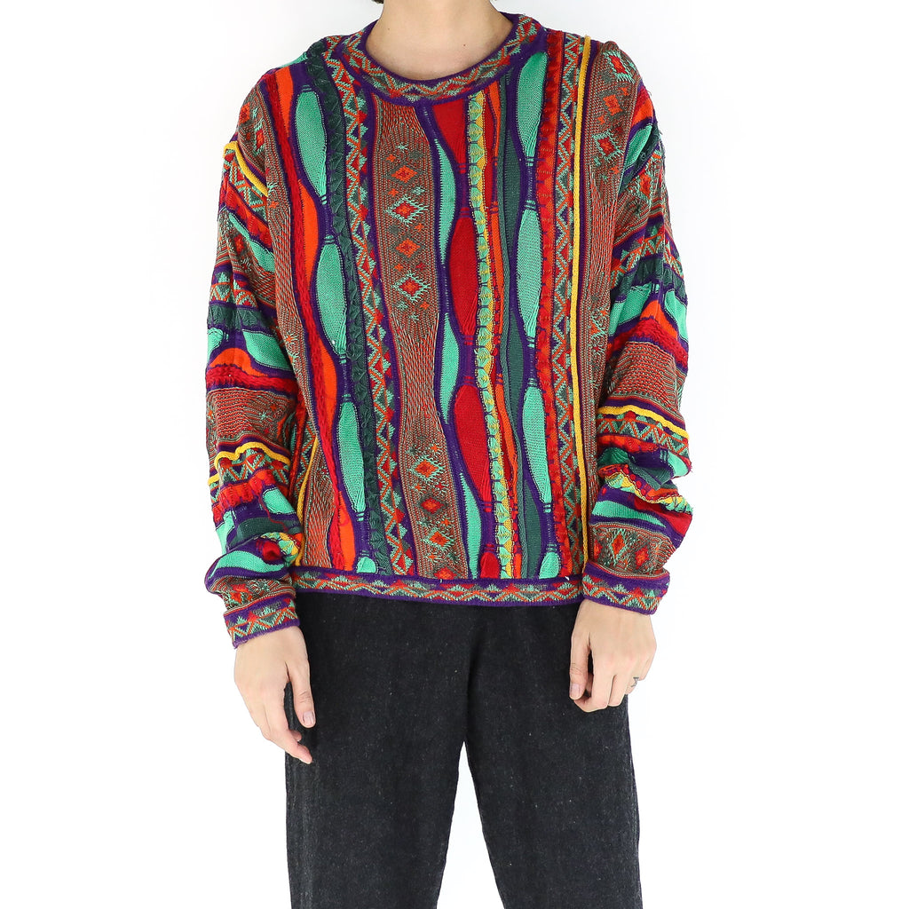 Red & Purple Coogi Sweater