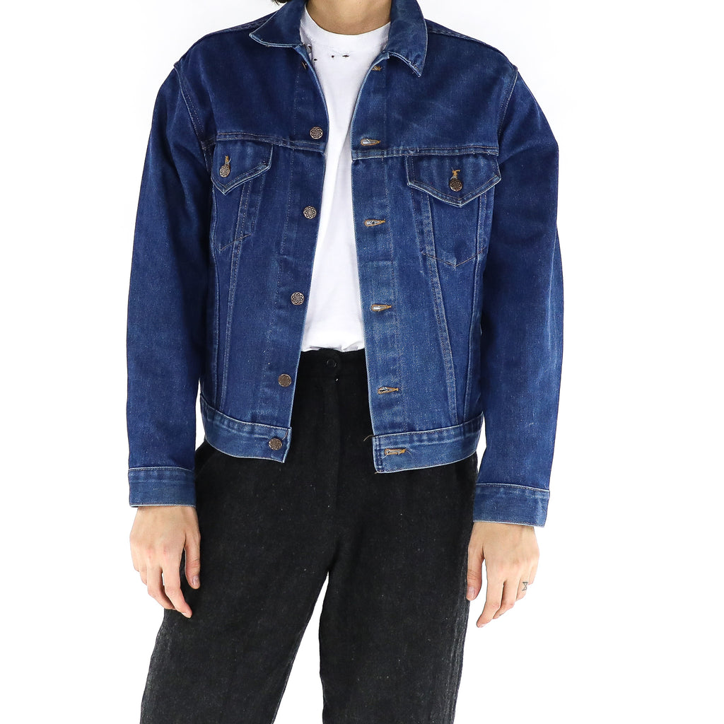 Royal Blue Denim Jacket