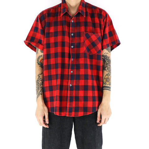Buffalo Plaid Short Sleeve