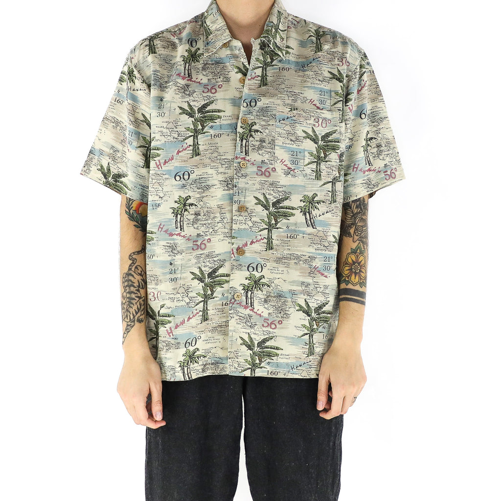 Map Of Hawaii Shirt