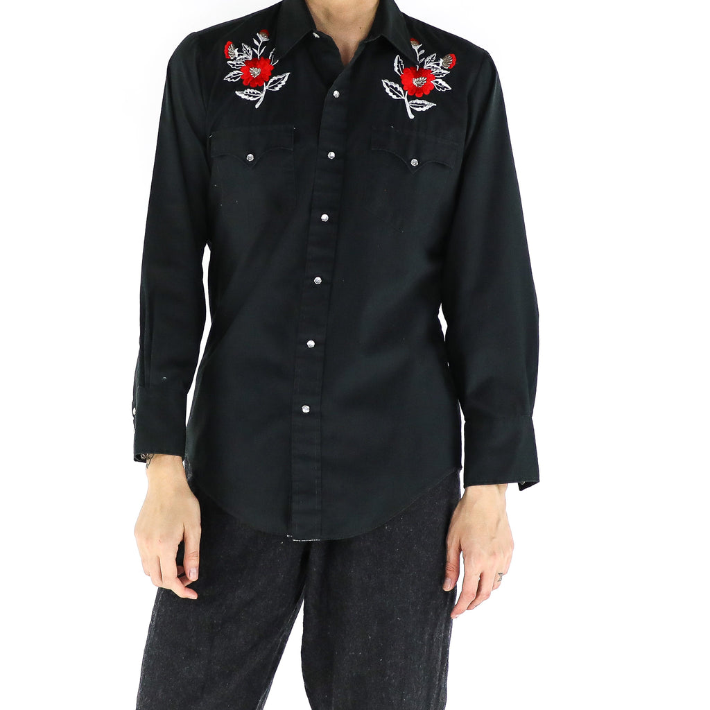 Black Rose Western Shirt