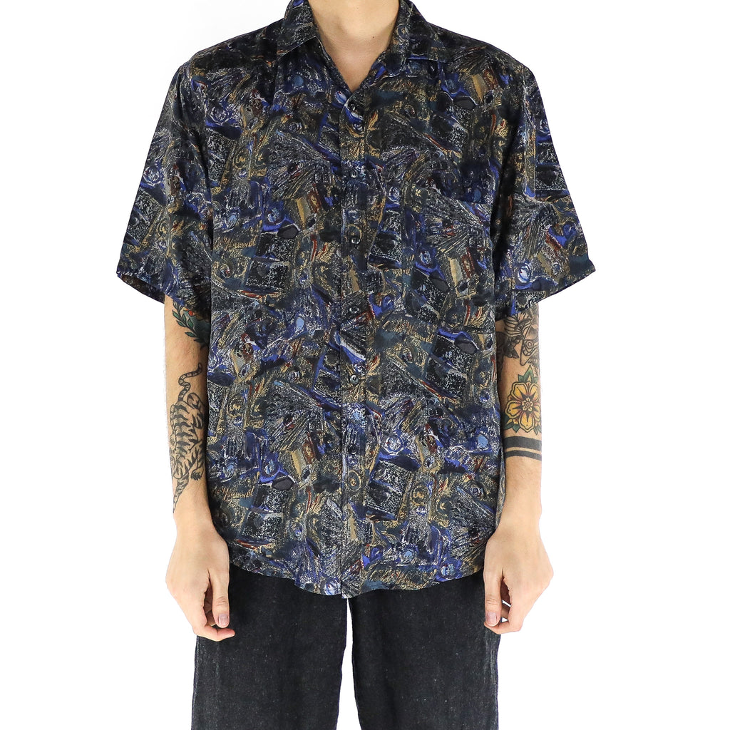 A Dark & Abstract Shirt